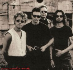 Dave Gahan  and Depeche Mode