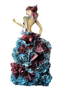 Arenga de libertad · DANIELA MARTÍNEZ GÓMEZ · Ilustración 2011 · Semestre: 4 · Diseño de Modas · Colegiatura Colombiana · Medellín-Colombia