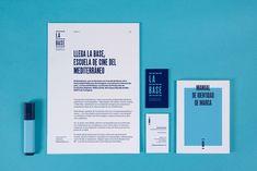 Diseño de marca para La Base - Estudio Rubio & del Amo