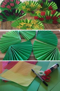 Spring Bouquet – Rebel Without Applause Valentine Crafts For Kids, Mothers Day Crafts, Paper Flower Patterns, Paper Flowers, Preschool Art Activities, Paper Pom Poms, Spring Bouquet, School Decorations, Diy Home Crafts
