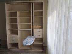Laundry Room Remodel, Laundry Room Cabinets, Bedroom Cupboards, Bedroom Cupboard Designs, Living Room Designs, Tiny Closet, Interior Decorating, Interior Design, Wardrobe Design