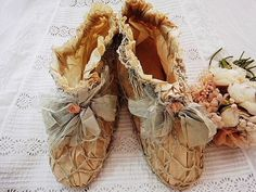 Antique child's shoes.