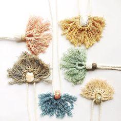 Just a couple of tassel necklaces left... see link in profile. . . . . . . . . #jewellery_kc #tasselnecklace #tasseljewellery #claynecklace #polymerclay #polymerclaybeads #wrappedrope #polymerclaynecklace #pendantnecklace #statementnecklace #statementjewellery #australianhandmade #etsy #etsyau #etsyseller