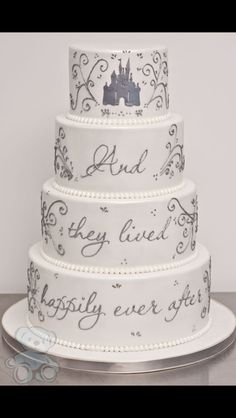 And they loved happily ever after cake
