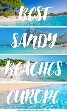 Beach travel: 20 Perfect White Sandy Beaches in Europe to lay yo. Summer Travel, Summer Europe, Beach Travel, Europe Europe, Travelling Europe, Travel Europe Cheap, European Travel, Destin Beach, Beach Trip