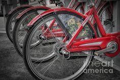 Title  Fort Worth Bikes   Artist  Joan Carroll   Medium  Photograph - Digital Photograph