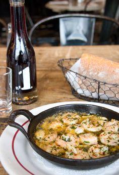 Menus :: Schiller's Liquor Bar. Best Thing: Garlic Shrimp Recommended by: Rocco DiSpirito
