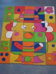 Risultati immagini per kunst mit kindern grundschule clowns - Janine Rodewald - Diy And Crafts, Crafts For Kids, Arts And Crafts, Primary School Art, Christmas Crafts For Adults, Circus Theme, Elements Of Art, Diy Cards, Art For Kids