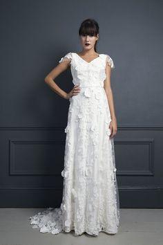 EBONY | WEDDING DRESS BY HALFPENNY LONDON