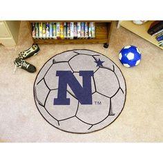 FANMATS NCAA U.S. Naval Academy Soccer Ball