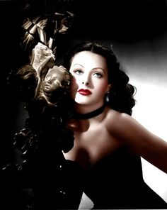 hollywood icons Hedy Lamarr (Color by Brenda J Mills) Hedy Lamarr (Color by Brenda J Mills) Old Hollywood Stars, Hollywood Icons, Old Hollywood Glamour, Golden Age Of Hollywood, Vintage Hollywood, Hollywood Actresses, Classic Hollywood, Hollywood Glamour Photography, Hollywood Divas