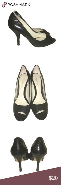 Enzo Angiolini Peep toe heels. Lightly worn. Normal wear on bottom of shoes Enzo Angiolini Shoes Heels