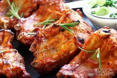 Receita de Costelinha de porco com molho barbecue - Comida e Receitas