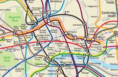 TfL has (secretly) made a geographically accurate tube map