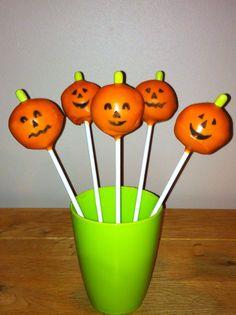 Pumpkin pops.