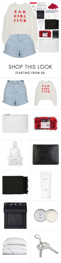 """""""DEAD END STREET"""" by trnslucid ❤ liked on Polyvore featuring Topshop, Whistles, Lalique, Givenchy, Surya, Hermès, NARS Cosmetics, Jack Wills, Luxor Treasures and Bulgari"""