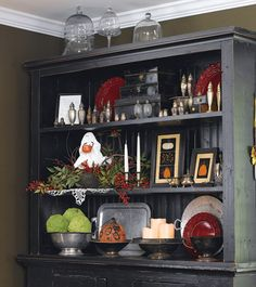 More Ideas For Decorating Hutch And Dining Room Seasons Holidays