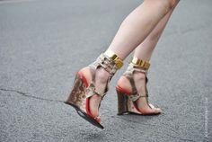 DIY Gold Ankle Cuffs « a pair & a spare