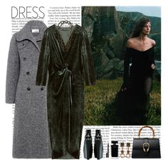 """""""winter dress"""" by helena99 ❤ liked on Polyvore featuring Shoe Cult, Carven, Lanvin, Gucci, Mawi, Narciso Rodriguez, Smith & Cult, midi, velvet and under100"""