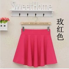 2015 Hot Women Bust Shorts Skirt Pants Pleated Plus Size Fashion Candy Color Skirts 9 Colors Pleated Shorts, Pleated Midi Skirt, High Waisted Skirt, Cotton Skirt, Skirt Pants, Printed Skirts, Fashion Pants, Style Fashion, Pattern Fashion
