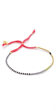 Shashi Sam Bracelet | SHOPBOP $22. Delicate bracelet using seed beads.