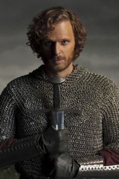 I'm finally admitting, I have a little thing for Merlin's, Sir Leon.  Played by Rupert Young.