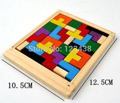 Tetris Wood Puzzle garden sheds