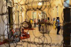 A mostra do artista plástico Paulo Olivença segue por tempo indeterminado. A entrada é Catraca Livre