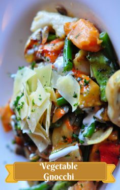 On The Chew, Michael Symon made a Gnocchi with Spring Vegetables recipe from his inspiration, Jonathan Waxman of the New York restaurant Barbuto. http://www.foodus.com/the-chew-gnocchi-with-spring-vegetables-recipe/