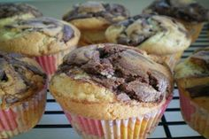 Nutella Frosted Cupcakes.