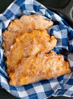 What could be better than pie? How about deep fried and glazed apple fry pies?