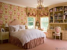 Camera da letto in stile country principessa Quadri letto | Camera da letto