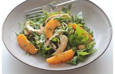 Apricot and Chicken Salad with Toasted Cumin Vinaigrette. Recipe from Vibrant Food by Kimberley Hasselbrink.   Photo by Gwendolyn Richards, Calgary Herald.