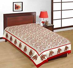 Odishabazaar Sanganeri Printed Cotton Single Bedsheet Bedcover in Multicolor Odishabazaar http://www.amazon.com/dp/B01CJGHAJG/ref=cm_sw_r_pi_dp_0zS2wb1E4WXV7