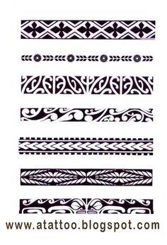 Afbeeldingsresultaat voor maori symbols and meanings tattoos Maori Band Tattoo, Band Tattoos, Samoan Tattoo, Body Art Tattoos, Sleeve Tattoos, Symbol Tattoos, Thai Tattoo, Tatoos, Tattoos Tribal