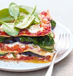 Lasagnes aux légumes et à la ricotta