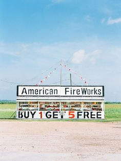 "Image from ""Fireworks Stands."" © Matthew Johnson"