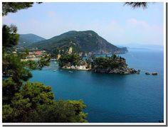 Parga, Preveza Hellas Greece Greece Destinations, Greece Travel, Greek, Europe, Cook, River, World, Places, Recipes