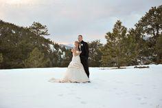 A lovely #winter shot by CMH Photography. #weddingphotography