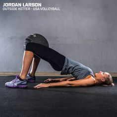 """Every Saturday I worked on sport and agility. It was an additional way to better myself — better my jump, better my speed."" - Jordan Larson"