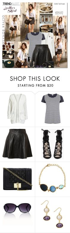 """""""Expect nothing appreciate everything."""" by leannesugarplum ❤ liked on Polyvore featuring ONLY, Poem, Vero Moda, LULU and Lazuli"""