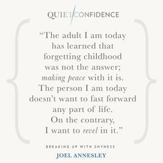 15 Quotes From Quiet Confidence: Breaking Up With Shyness - Quietly Successful: Unlock The Authentic Leader Within Quiet Confidence, Success Coach, Hypnotherapy, Life Coaching, Sydney Australia, Breakup, Clinic, Peace, Learning