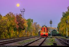 RailPictures.Net Photo: Russian Railways ChME3 at Moscow, Russia by Ilya Semyonoff