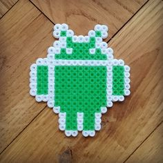 Android hama beads by Thea IMYBY