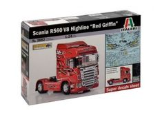 Scania R560 V8 Highline''Red Griffin''     scala 1:24