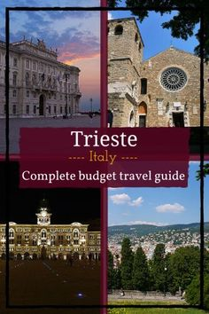 Trieste - complete budget travel guide