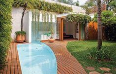 piscina pequena / Dicas que você deve saber antes de construir sua piscina #hogarhabitissimo