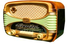 Oceanic bakelite vintage radio.