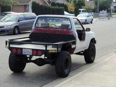 Flat bed Old Ford Trucks, Toyota Trucks, Mini Trucks, Cool Trucks, Pickup Trucks, Custom Truck Beds, Custom Trucks, Custom Cars, Truck Flatbeds