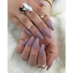 50 Matte Nail Polish Ideas ❤ liked on Polyvore featuring beauty products, nail care and nails